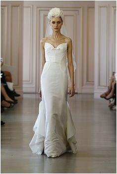 Oscar De La Renta 2016 Wedding Dress Collection - Nu Bride