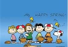 Happy Spring from the Peanuts Gang!