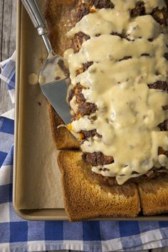 Cheeseburger Meatloaf and Cheese Sauce / by Paula Deen