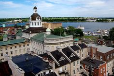 Shopping and touring downtown Kingston, Ontario Kingston Ontario, Canadian Girls, Canada Travel, Touring, United States, Explore, Mansions, Grandparents, House Styles