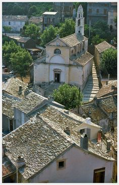 Village of Nonza, Corsica_ South France What A Wonderful World, Beautiful World, Beautiful Places, Ste Julie, Corsica Travel, Oh The Places You'll Go, Places To Visit, Belle France, French Beauty
