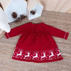 Garnpakken Inneholder Oppskrift Og Alt G - Diy Crafts Baby Sweater Knitting Pattern, Baby Knitting Patterns, Baby Barn, Knit Crochet, Crochet Pattern, Christmas Knitting, Knitting For Kids, Christmas Wrapping, Baby Sweaters