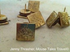 Make your own Disney-themed thumb tacks with MTT Jenny - MouseTalesTravel.com  #MTT #disneydiy #easycrafts