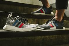 "Adidas NMD_R1 ""Tri-Color"" Pack"