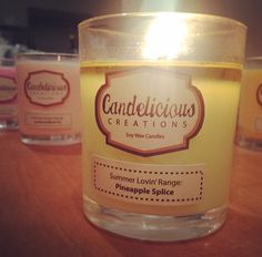 Pineapple Splice Candle!
