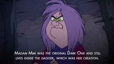Madam Mim from The Sword in the Stone has secretly been a character all along!