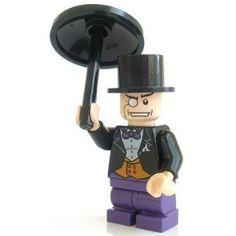 Marvel Universe Batman Lego Moc Minifigure Gift For Kids Black Suit Penguin