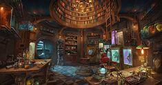 steampunk fantasy artwork laboratories 1080p magical castle rooms wallpapers magic 4k walls arts faite composition ai une wallpaperflare concept desktop