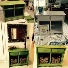 Vieux buffet cuisine transformé en jolie petit meuble ! Homemade, Home Made, Diy Crafts, Do It Yourself