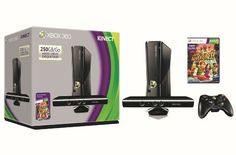 Microsoft Xbox 360 S 250GB System Kinect Bundle *** You can get additional details at the image link.Note:It is affiliate link to Amazon.