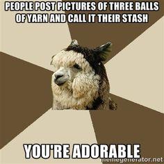 ... -yarn-meme/ #knit #knitting #crochet #meme #funny #crafts #yarn #meme