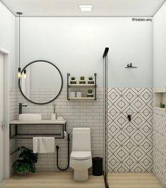 Awesome 49 Elegant Bathroom Sink Decorating Ideas For Bathroom White Bathroom Tiles, Bathroom Sink Vanity, Simple Bathroom, Interior Design Living Room, Living Room Designs, Craftsman Bathroom, Bathroom Wallpaper, Decoration, House Styles