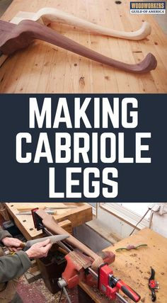 Learn the art of cabriole leg making with professional woodworker and freelance author Dave Munkittrick. Dave will show you how to design and create a Queen Anne style cabriole leg. This Class takes you on a step-by-step journey through the entire process; from initial design to the final transition block that joins the flowing curves of the cabriole leg to the table apron.