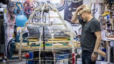 Adam Savage building a Totoro Costume #sewing #crafts #handmade #quilting #fabric #vintage #DIY #craft #knitting