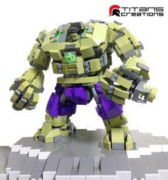https://flic.kr/p/uDNo2o | Hulk's Gamma Suit | Tinman X Avenger