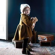 So cute, new winter looks from @littlecreativefactory #kidsfashion #kidstyle #kidsfashiontrends #FW15 #fashionfromspain