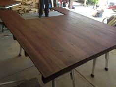 Tray is stained now :) Tray, Dining Table, Furniture, Home Decor, Decoration Home, Room Decor, Dinner Table, Trays, Home Furnishings