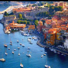 Jaw just dropped.... can I go? can I? can I pleeeeeease?  Villefranche sur Mer, Southern France
