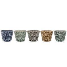 Ceramic Votive, 5 Styles by Bloomingville