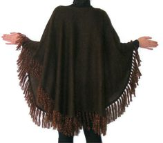 women ponchos, shawl ,brown, stole, women accessory, clothing, for her