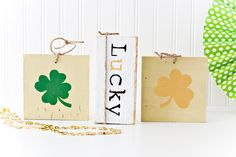 Easy St. Patrick's Day Decorations - Eighteen25