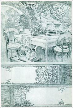 Dining Room Design 1901