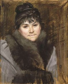 Portrait de Madame X. -- Marie Bashkirtseff