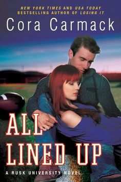 Reviews by Tammy and Kim: ARC Review & Giveaway: All Lined Up: Cora Carmack