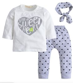 Sweetheart Baby Set Baby Outfits Newborn, Toddler Outfits, Cute Newborn Baby Girl, Baby Girls, Baby Boy, Outfits With Hats, Boy Outfits, Penguin T Shirt, T Shirt Flowers