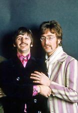 RINGO STARR AND JOHN LENNON.....