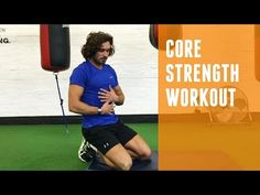 Don't ignore the core! Try this little core strengthening workout. 15 Minute Hiit Workout, Cardio, Tabata, Muscle Fitness, Men's Fitness, Gain Muscle, Muscle Men, Build Muscle, Workout Routine For Men