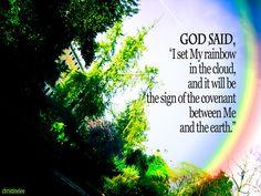 Rainbow: God's covenant by ~christinelyt on deviantART
