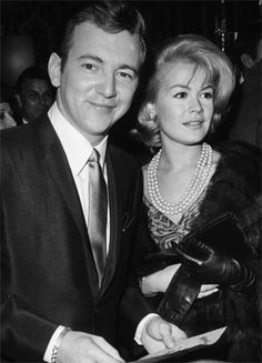 Bobby Darin & Sandra Dee candid