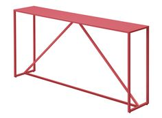 Red? Comes in Black or White?   Strut Console Table