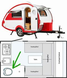 Brilliant Camping Trailer Travel With Trailer Floor Plans Make Happy Camper , Define your requirements, considering what the trailer is going to be used for. Make certain that you have thought about how you are going to be trans. Small Rv Campers, Small Camper Trailers, Small Travel Trailers, Tiny Camper, Small Trailer, Vintage Travel Trailers, Vintage Campers, Tow Campers, Vintage Airstream