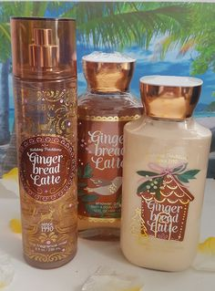 bath and body works gingerbread latte shower gel fragrance mist and body lotion #ebay #deals #fragrance #lotion #giftideas #vacation
