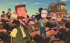Smashing!  I loved this cartoon