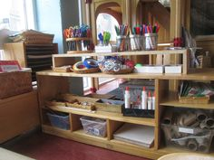 Under 3 Roofs: Creating Spaces for Art Materials in Classrooms
