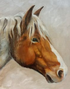 Custom Original Animal or Horse Portrait by JenniferBerryFineArt