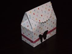 Love butterfly favour box
