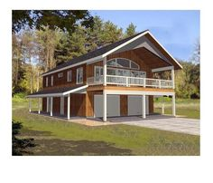Garage With Apartment Apartments 3 Car House Plans