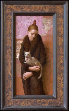 Kenne gregoire on ArtStack - art online Figure Painting, Painting & Drawing, Portrait Art, Portraits, Dutch Artists, Small Art, Medium Art, Figurative Art, Cat Art