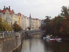 Vistas del río Moldava
