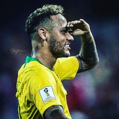 #brazil #WorldCup #Neymar Neymar Jr, Soccer Stars, Football Soccer, World Cup 2018, Fifa World Cup, Wonder Boys, Brazil, Celebrities, Titanic