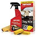 You've heard about clay bars— Mothers California Gold Clay Bar Kit is the one you want. Professional detailers, valeters, body shops and your car buddies all talk about how they work. Car Wax Polish, Log Home Interiors, California, Cleaning Kit, Cleaning Products, Car Painting, Car Wash, Auto Wash, Car Detailing