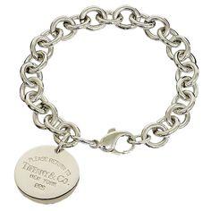 Tiffany Silver 925 Return To Tag Bracelet