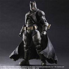 The Play Arts Kai Armored Batman Figure Is Ready To Battle Superman
