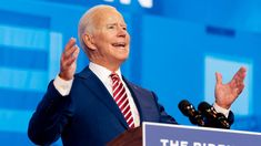 Biden will deliver remarks from his home state of Delaware on his plans for combatting the pandemic. Trump is traveling to his adopted home state, where he plans a pair of rallies.