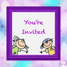 Birthday Invitation Animated Card#animated #birthday #card #invitation Happy Birthday Greetings Friends, Birthday Greetings For Daughter, Greeting Card Video, Birthday Greeting Cards, Party Invitations Kids, Send A Card, Funny Cards, Drawing For Kids, Birthday Gifts
