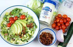 Bacon Bleu Cheese Chop Salad